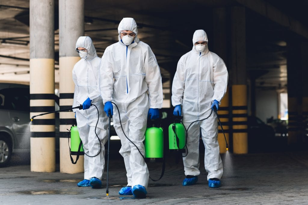 Desinfectie schoonmaak in Antwerpen